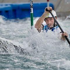 Rio 2016 Olympic Games - Czech Vitezslav Gebas competes in canoe single slalom semifinal
