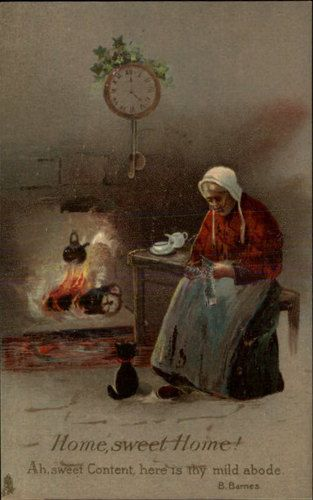 Old Grandma Knitting : Best images about knitting greeting cards mostly