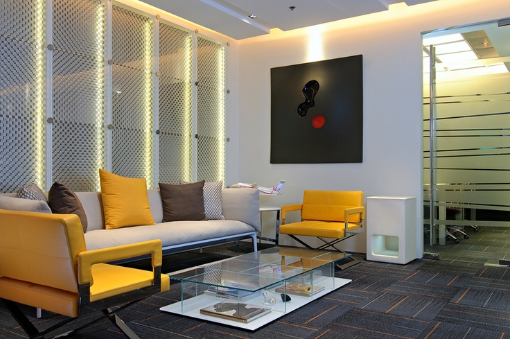 15 best images about office reception area welcome on for Decor fusion interior design agency