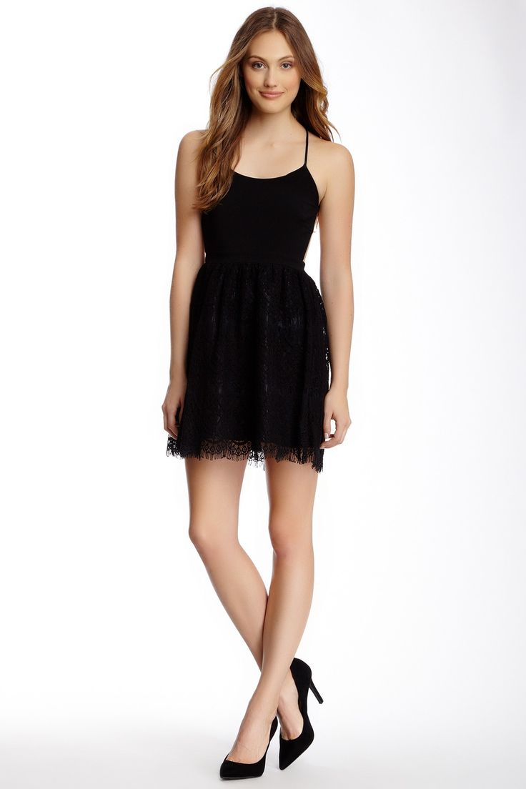 Love the Lace on the LBD