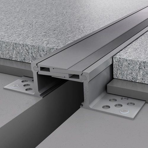 Aluminum expansion joint / for floors NOVOJUNTA PRO® METAL60 EMAC COMPLEMENTOS, S.L.