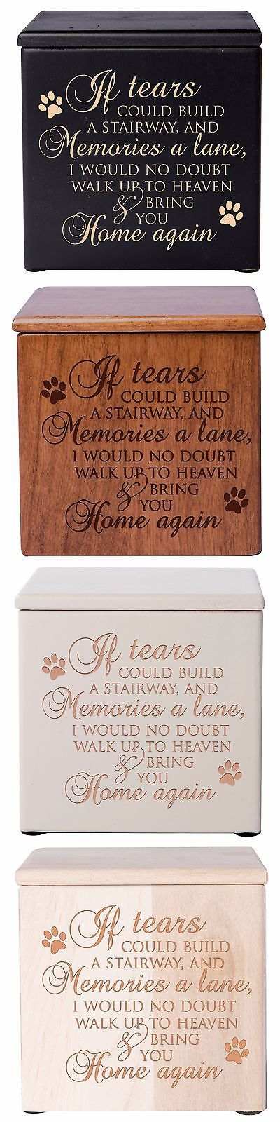 Pet Memorials and Urns 116391: Cremation Urn For Pet Ashes Small Memorial Keepsake Gift Box Free Shipping -> BUY IT NOW ONLY: $54.99 on eBay!