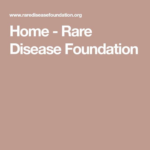 Home - Rare Disease Foundation
