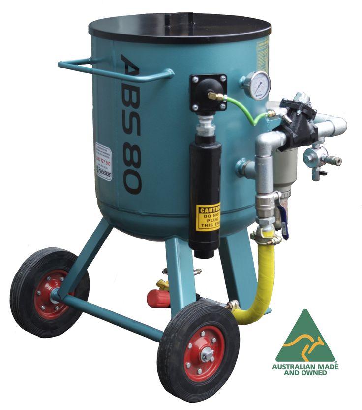 The ABS80 litre Australian made blast pot - Abrasive Blasting
