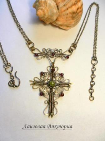 Кулон «Крестик»