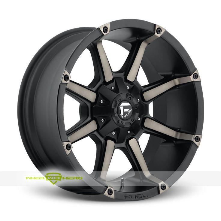 Fuel Coupler D556 Black Wheels For Sale & Fuel Coupler D556 Rims And Tires