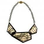 Designer precious metal and costume jewellery - Necklace