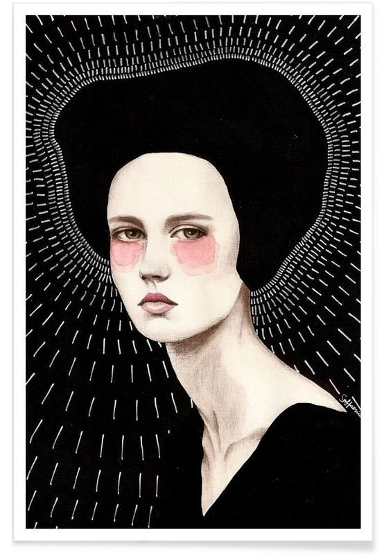 Freda en Affiche premium par Sofia Bonati | JUNIQE