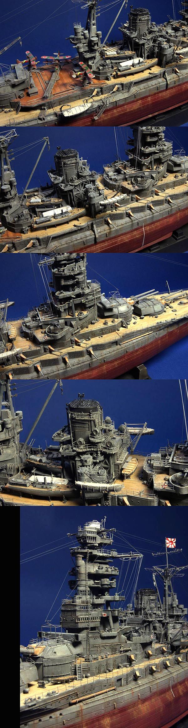 Nagato IJN Battleship 1/350 Scale Model