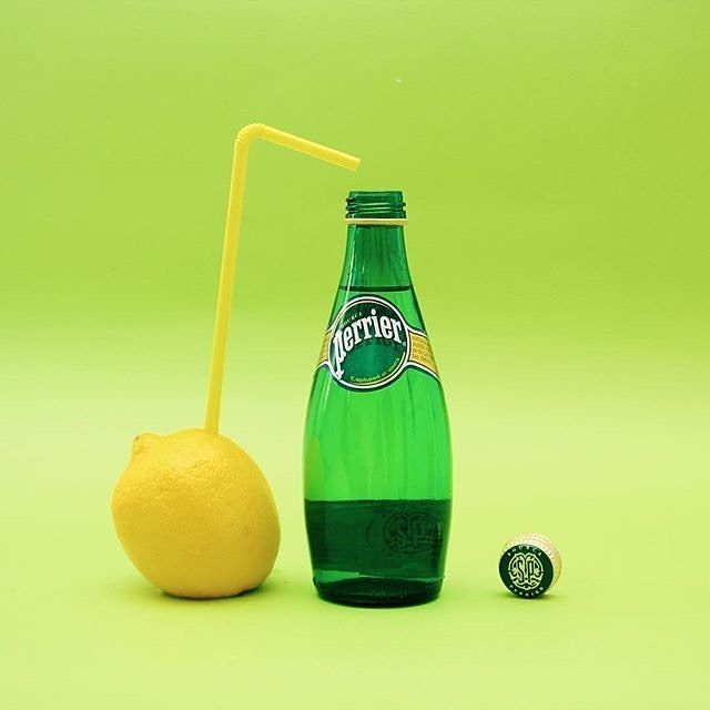 Drink Water Now! Perrier Sparkling Natural Mineral Water (France)