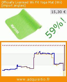 Officially Licensed Wii Fit Yoga Mat (Wii) [import anglais] (Accessoire). Réduction de 59%! Prix actuel 15,30 €, l'ancien prix était de 37,35 €. http://www.adquisitio.fr/hori-inc/officially-licensed-wii