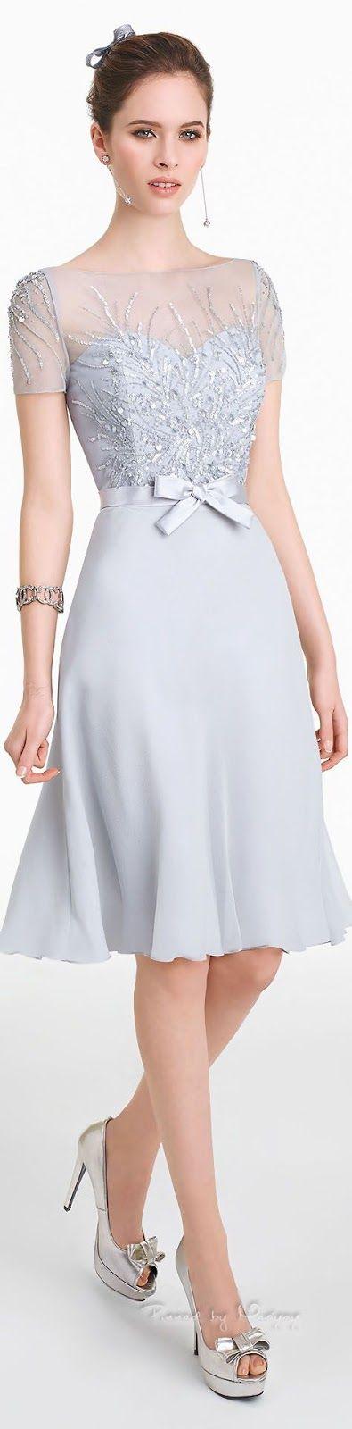 vestido madrinha azul claro                              …