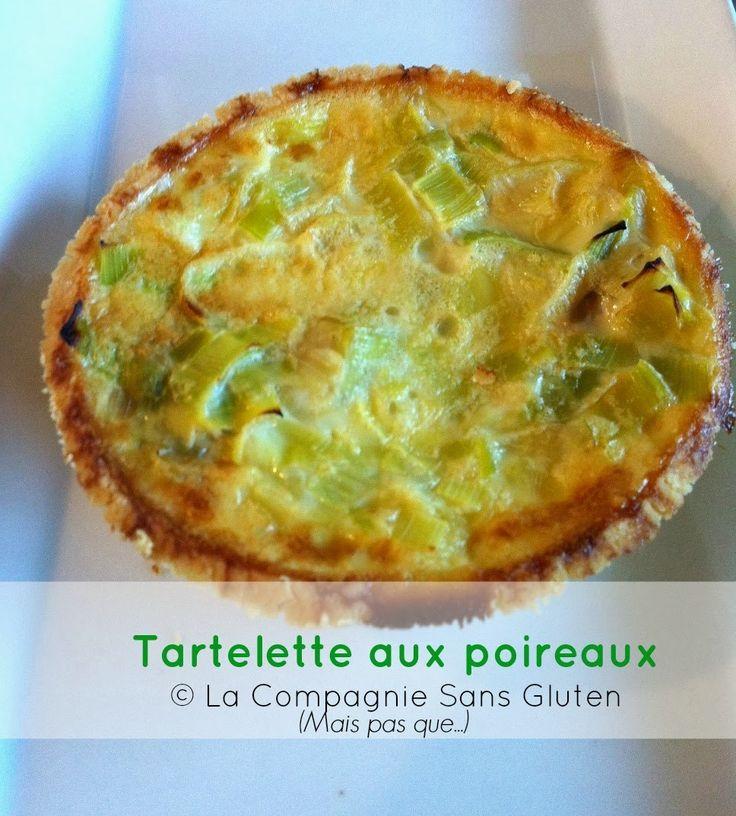 La-Compagnie-Sans-Gluten, un blog-sans-gluten-et-sans-lait !: Tartelettes aux poireaux - sans gluten, sans lait, sans soja