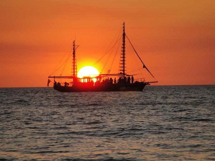 Sunset, Darwin - Mindel Beach