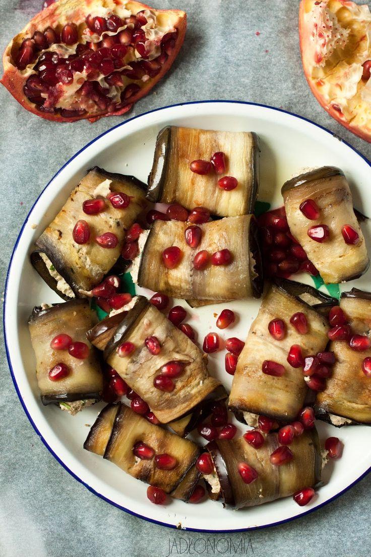 jadłonomia · roślinne przepisy: Gruzińskie bakłażany