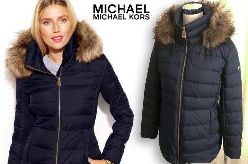 189€για ένα αδιάβροχο γυναικείο μπουφάν με αποσπώμενη κουκούλα του οίκου Michael Kors, εξαιρετι...