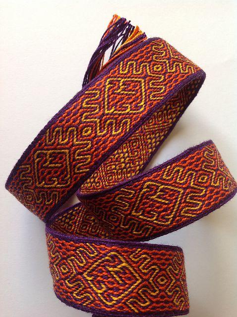 Ravelry: llunallama's Tablet Weaving