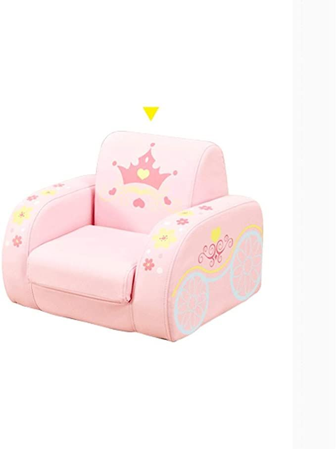 Jjzxd Children S Flip Sofa Bed Kids Upholstered Foam Chair Toddler Recliner Chair Child Seat Cute Lazy Small Sofa In 2020 Toddler Recliner Chair Sofa Colors Small Sofa