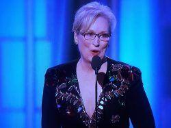 cool Meryl Streep Cecil B. DeMille Award Video: Watch Golden Globes Acceptance Speech!