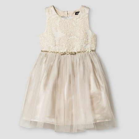 Toddler Girls' Occasion Dresses Champagne - #ZENZI : #Target