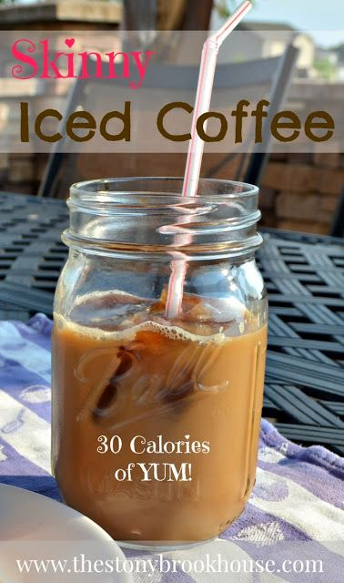 Skinny Iced Coffee {My Newest Coffee Addiction!}