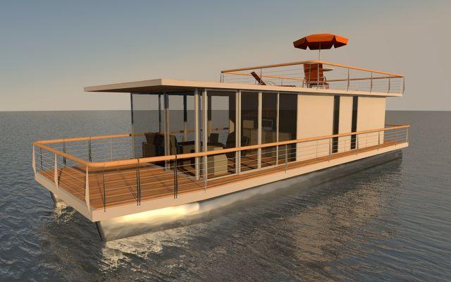 Pontoon Houseboat Diy Aluminium