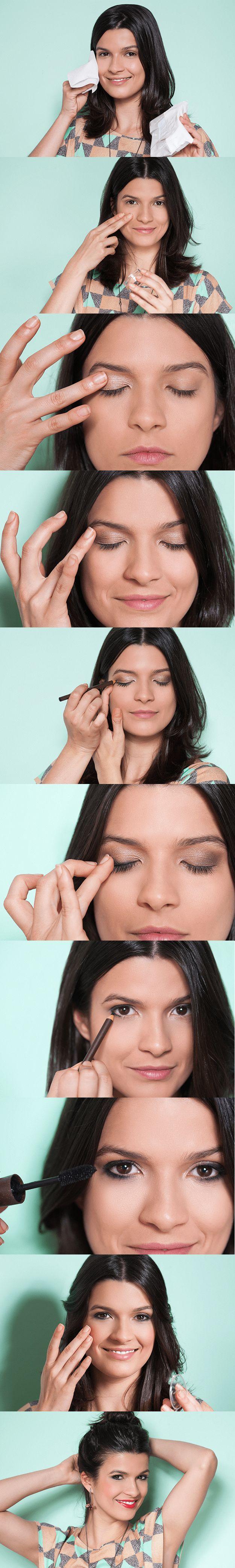 Na correria do dia a dia, nem sempre sobra tempo para se maquiar com calma. Siga as dicas do Adoro Maquiagem e conquiste um look natural sem esforço, usando apenas os dedos. É hora de dar tchau ao pincel (mas só quando você quiser!)