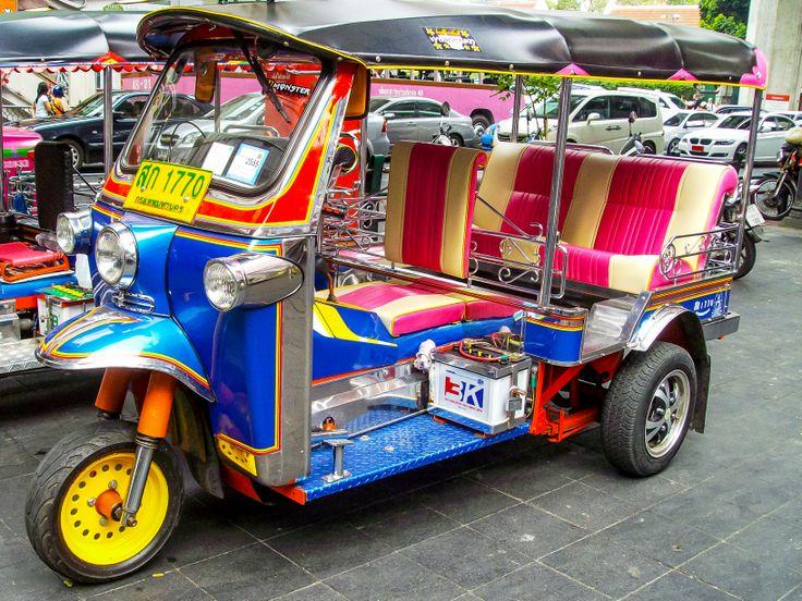 Central Bangkok tuk-tuk