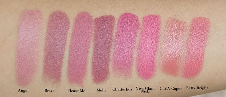 Gallery For > Mac Lipstick Faux Swatch