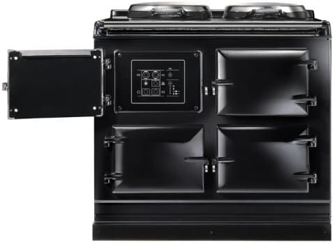 AGA ATC3 39 Inch Cast-Iron Electric Range with Boiler Hot Plate, Simmering Hot Plate, Roasting Oven, Baking Oven, Slow-Cook Oven, Insulated Covers and Remote Control Handset
