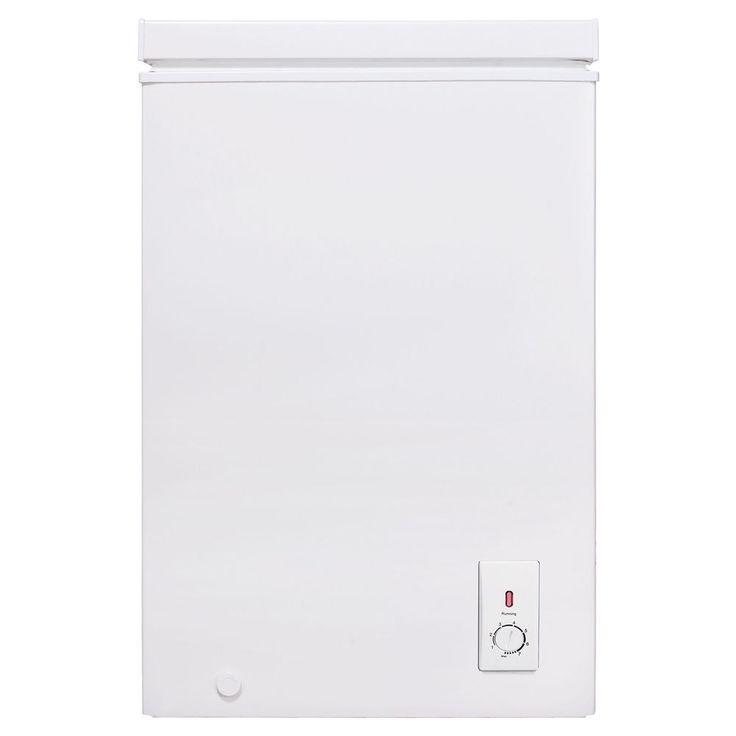 Esatto Chest Freezer 100L White ECF100W