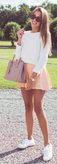 Peach Skirt                                                                             Source