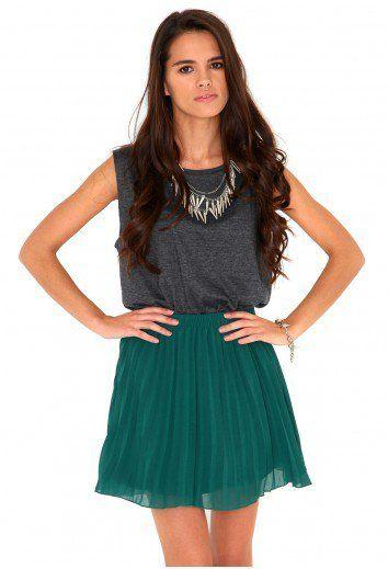 #missguidedau.com         #Skirt                    #Missguided #Ruthila #Pleated #Skater #Skirt #Deep #Green                     Missguided - Ruthila Pleated Skater Skirt In Deep Green                                                 http://www.seapai.com/product.aspx?PID=1307820