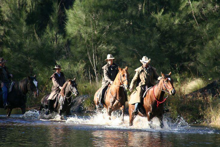 Riding through the Cox's River