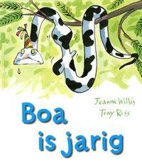 Boa is jarig. Al zijn vrienden brengen cadeautjes mee, maar wat heeft een slang nou aan wanten of een haarborstel? Boa vindt het cadeau van Mestkever het allerstomst, maar dat blijkt heel anders uit te pakken.