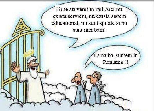 Bine Ai Venit In Rai  - Bine ai venit in rai. Nu ai nimic aici. Nici macar bani, Deci esti ca in Romania!