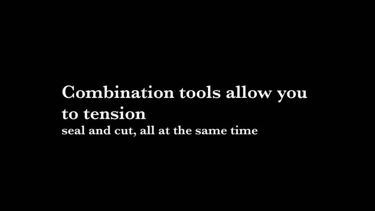 A great video on why strapping hand tools are so useful