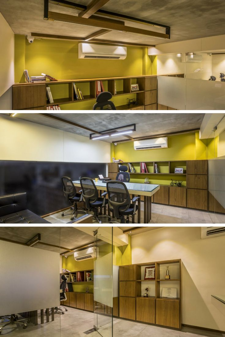 Elegant And Modern Style Office Interior The Interior