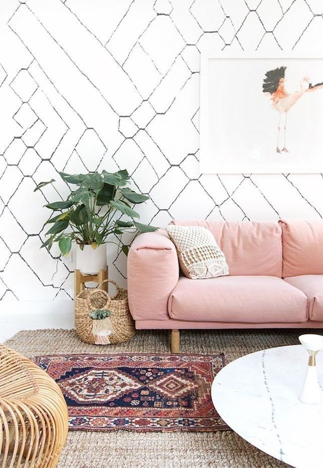 Use these genius wallpaper decor tips to add texture to your home.