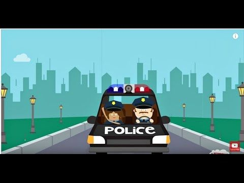 hurry hurry drive the police car song for kids kidsmusic preschool