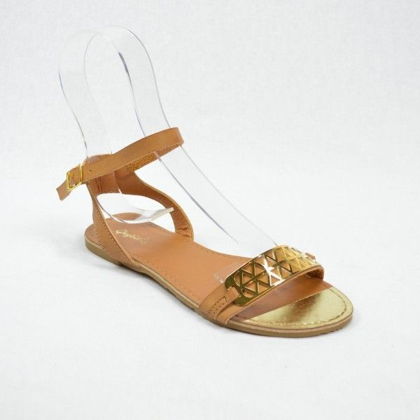 Golden Goddess. Hot summer tan/nude sandals/flats, wear them day or night! Now only $38 (were $46). www.heelheaven.com.au All shoes on sale!