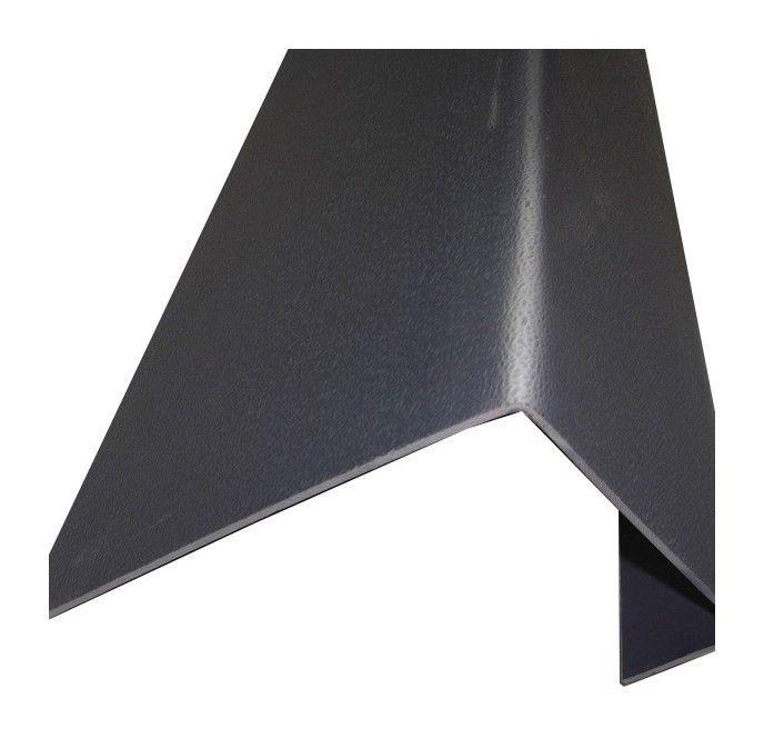 Profil De Rive Toiture Tuile Pvc L 188 Cm Coloris Gris Anthracite Largeur 38 Cm Longueur 188 Cm 5978104