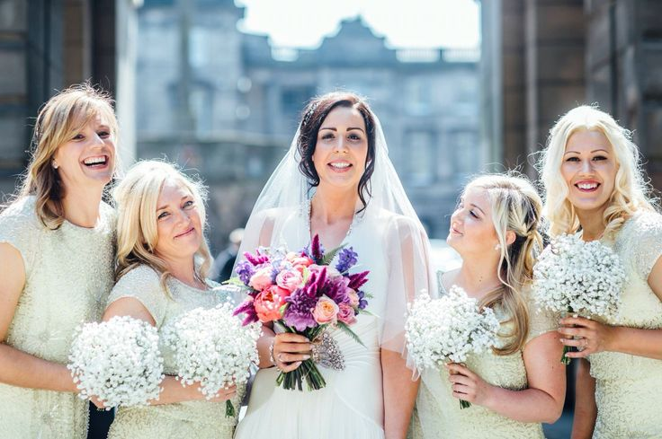 Bridemaids, Edinburgh City Chambers, Royal Mile