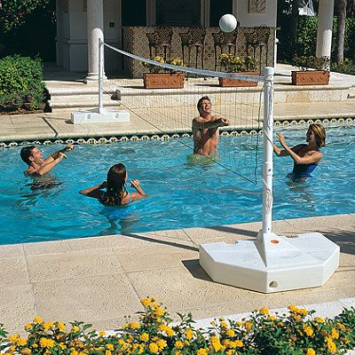 17 best images about fun games on pinterest pool games for Pool design for volleyball