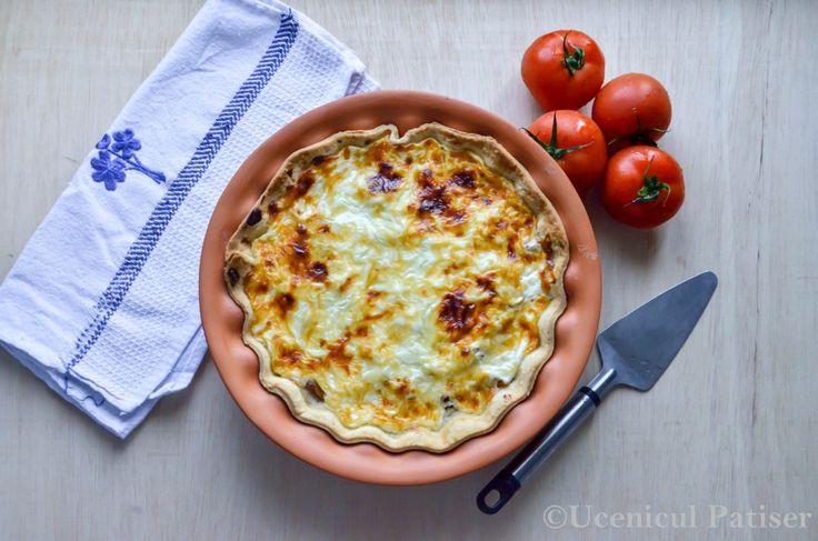 Tartă de roșii cu iaurt grecesc