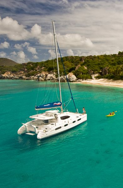 The British Virgin Islands- one place I'd rather be right now...company would be nice