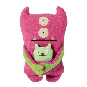 Ugly Dolls: UglyBuddies Plush Dolls, Bop N' Beep and Jeero Ugly Buddies Plush Dolls, Bop N' Beep and Jeero.  Measures approximately 9″ x 9″ x 3″. There's a kangaroo-esque pouch for the smaller of the hugging buddies. http://awsomegadgetsandtoysforgirlsandboys.com/ugly-dolls/ Ugly Dolls: UglyBuddies Plush Dolls, Bop N' Beep and Jeero