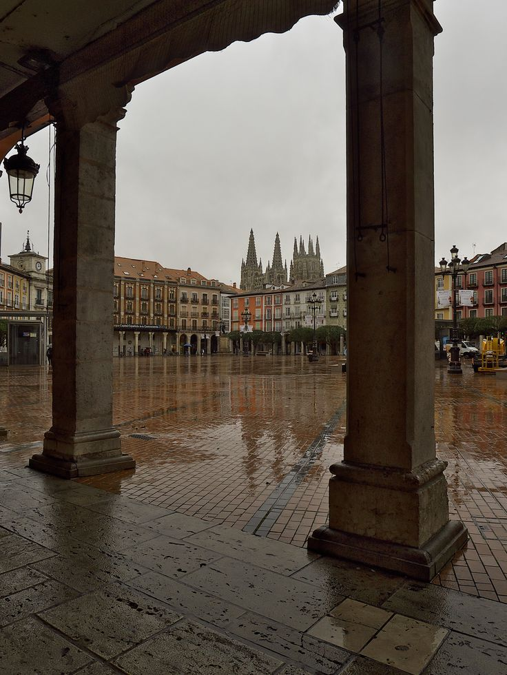 Plaza Mayor de Burgos, Spain