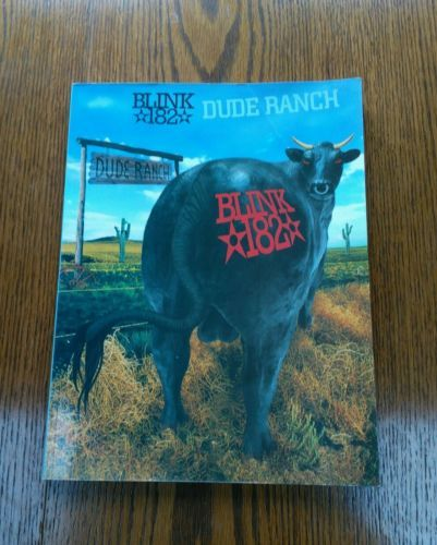 #Blink-182 - dude ranch, #guitar #music book with #guitar tab,  View more on the LINK: http://www.zeppy.io/product/gb/2/322380130937/