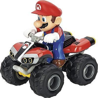 Nintendo Mario Kart 8 Mario Carrera RC Toy Vehicle ATV 5.6 Mph Battery Powered